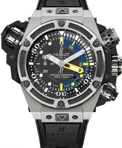 HUBLOT King Power Oceanographic Titanium Automatic Limited Edition Gents Watch 732.NX.1127.RX